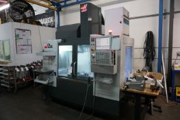 """2019 HAAS VF2SS VERTICAL CNC MILL, S/N 1160506, 30"""" X 16"""" X 20"""", COOLANT TROUGH SPINDLE, 10,000"""