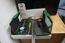 """LOT TO INCLUDE: (2) 6"""" INSIZE DIAL CALIPERS, (1) 12"""" INSIZE DIAL CALIPER"""