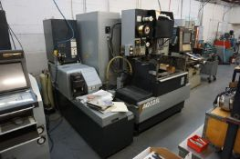 2004 SODICK AQ325L WIRE EDM, S/N 2112, WITH LQ1W CONTROL S/N 0407, CUT TIME 6,697 HOURS, WITH
