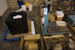 SHIPPING LOT TO INCLUDE: (1) HP PRINTER, MODEL CZ244A, (2) SCALES, MISC. PACKING TAPE, MISC.