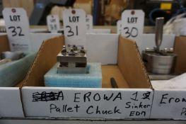 EROWA ROUND PALLET CHUCK, FOR SINKER EDM