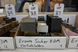 (9) EROWA ELECTRODE HOLDERS, FOR SINKER EDM