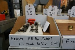 EROWA ER16 COLLET ELECTRODE HOLDER SET