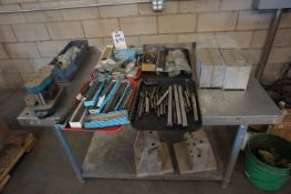 MISC. INJECTION MOLDING LOT TO INCLUDE: MISC. PINS, MOLDS, CNC FIXTURES