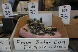 MISC. EROWA ELECTRODE HOLDERS, FOR SINKER EDM