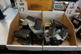 (6) BORING BAR HOLDERS FOR LATHE