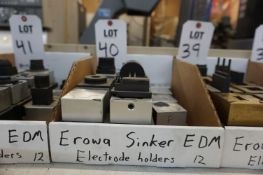 (12) EROWA ELECTRODE HOLDERS, FOR SINKER EDM