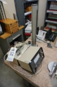 LOT TO INCLUDE: (1) HEIGHT GAGE WITH MITUTOYO PROBE, (1) MITUTOYO MU CHECKER L2961, (1) MITUTOYO