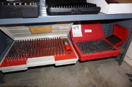 (3) PIN GAGE SETS .011-.500, USED WITH CMM *PARTIAL SET SEE PICTURES*