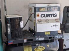 CURTIS KS7 AIR COMPRESSOR 7.5 hp