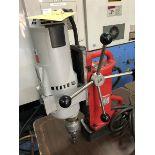 MILWAUKEE MAG DRILL PRESS; S/N 8384198275794, CAT# 4203, 120V, 60-HZ