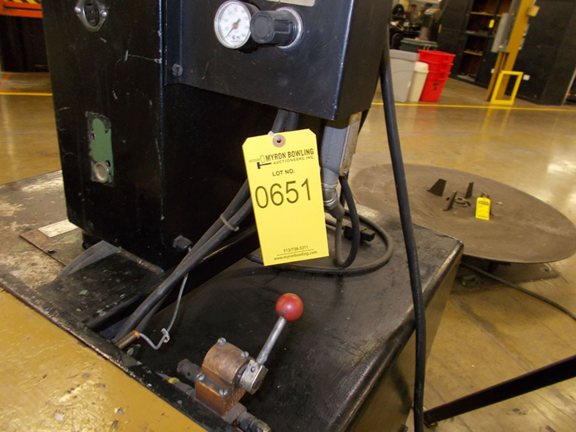 Lot 651 - ROCK FORD AUTO DRAW; MODEL 67-10103-85M, S/N 97014091, 230V, 3-PHASE