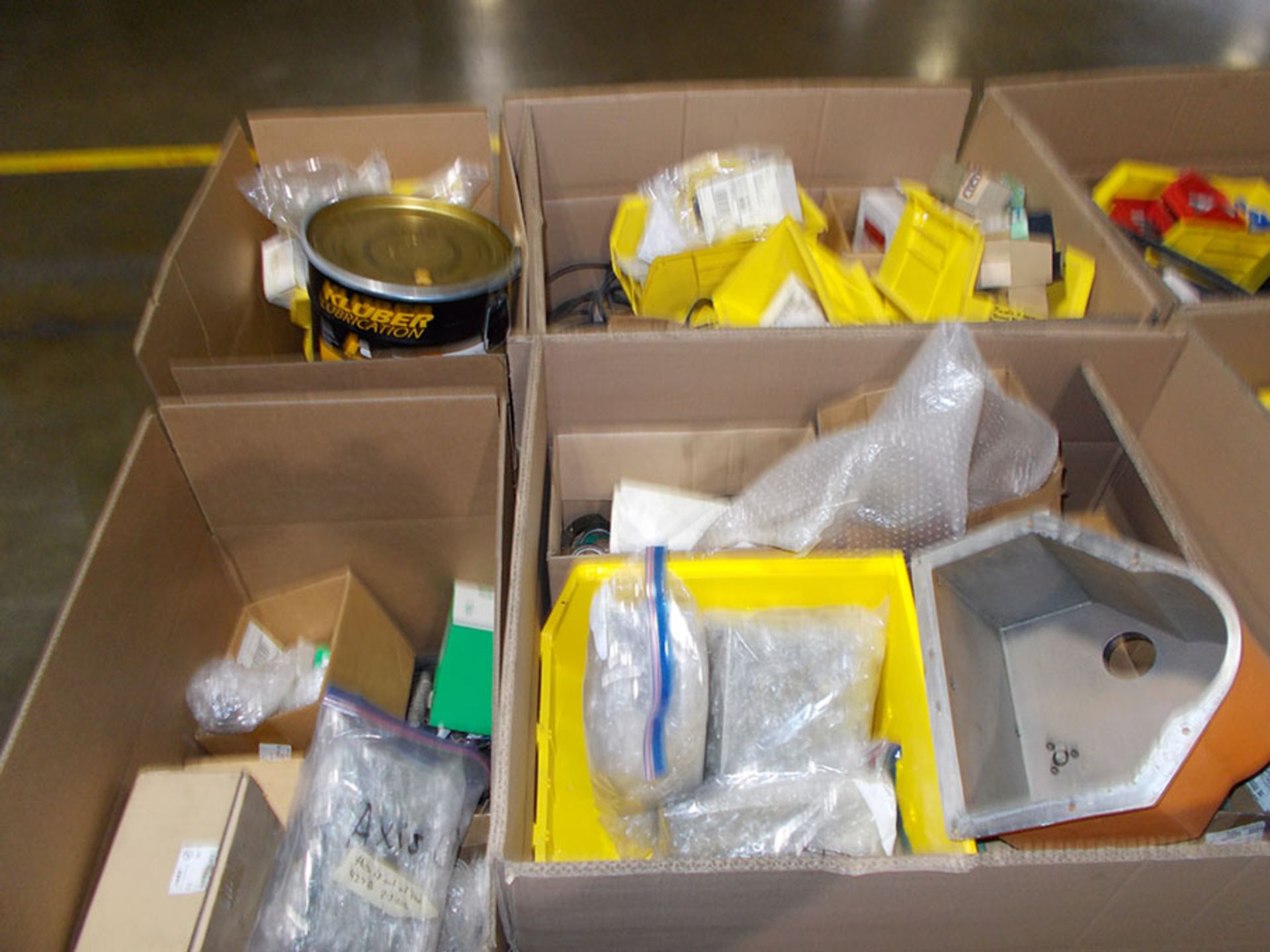 Lot 769 - (6) BOXES OF MAC SOFT F SERIES SPARE PARTS