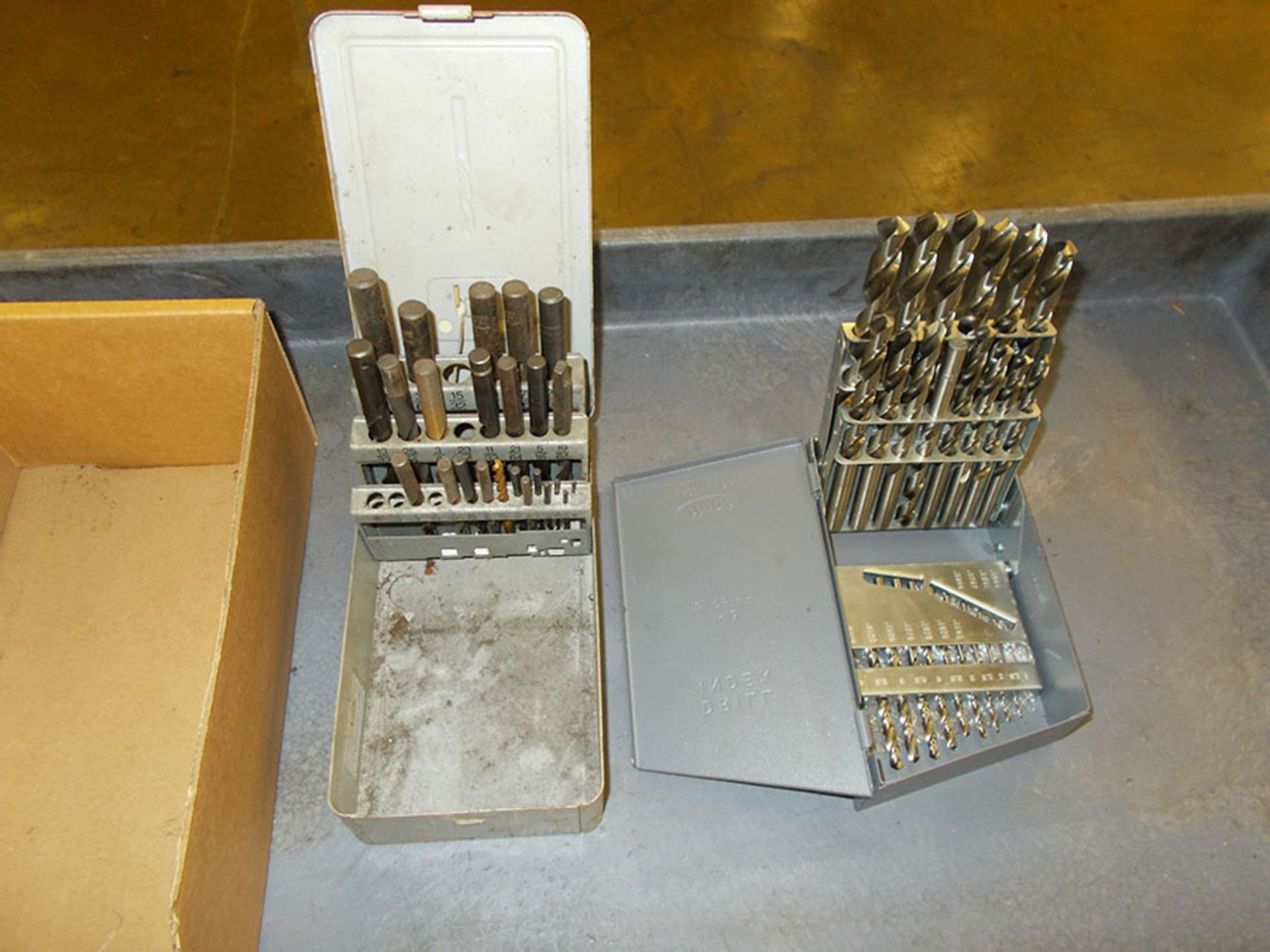 Lot 59 - (2) DRILL INDEXES