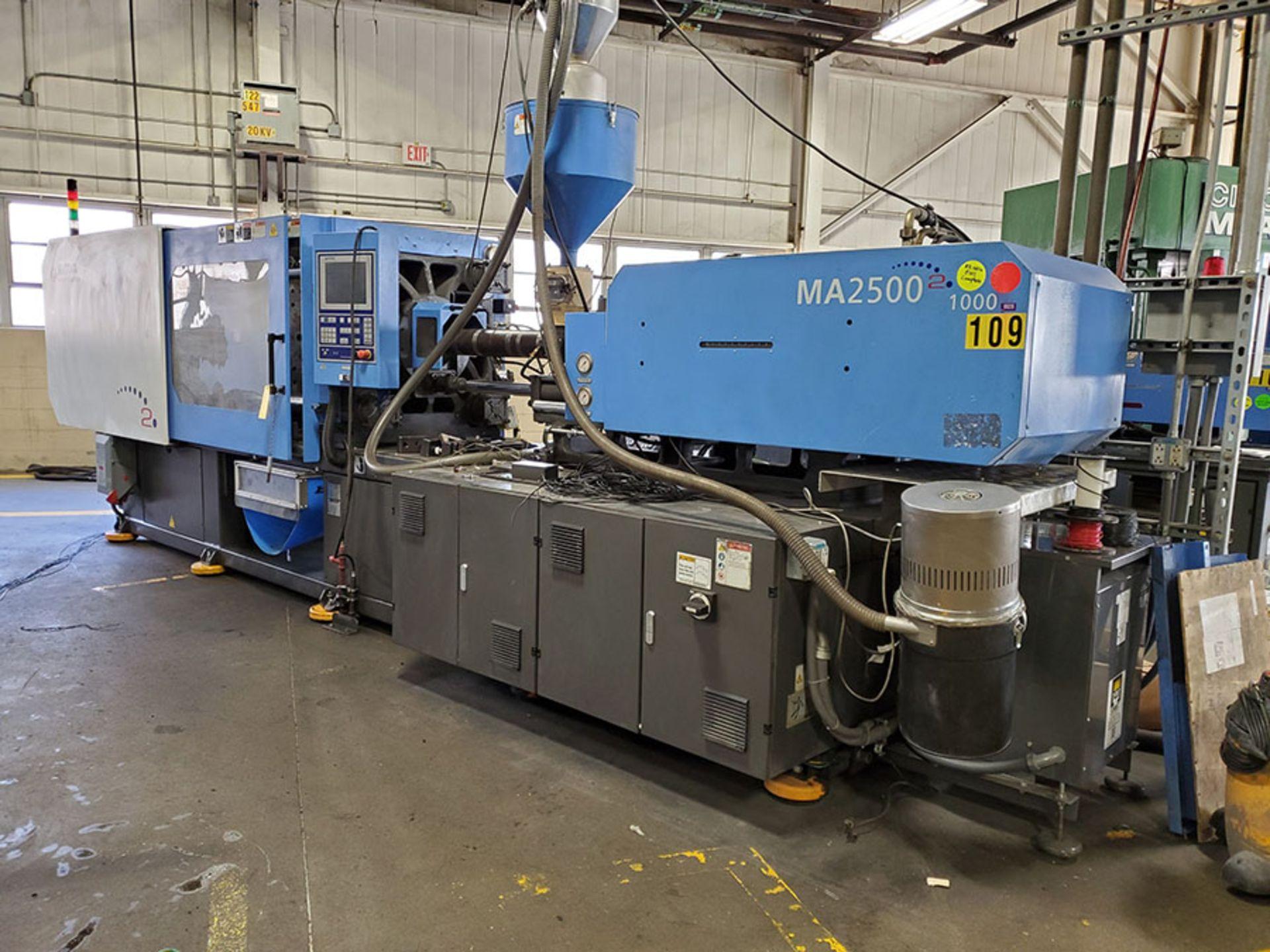Lot 171 - 2014 HAITIAN 250-TON PLASTIC INJECTION MOLDING MACHINE; MODEL MA2500II, S/N 2014070250, WITH SHINI
