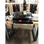 VISION X-VISION GAGE SYSTEM; 12'' X 12'', MODEL FULL CNC, S/N 1017081, ON TABLE
