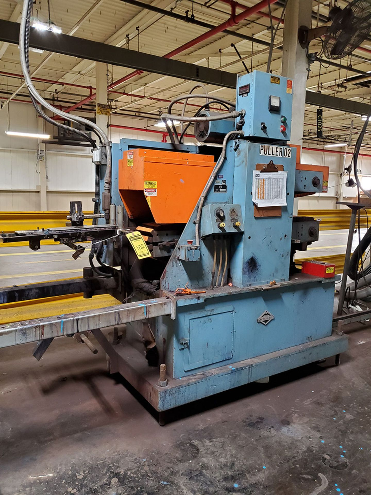 Lot 182 - METAPLAST PULLER; MODEL PC-8-50-L, S/N 393070