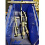 LOT OF (4) SMALL O.D. MICROMETERS