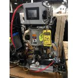 PIN PUNCH PRESS WITH AIR-MITE; 120-PSI MAX PRESSURE, MODEL DAP19, WITH DIGITAL READOUT