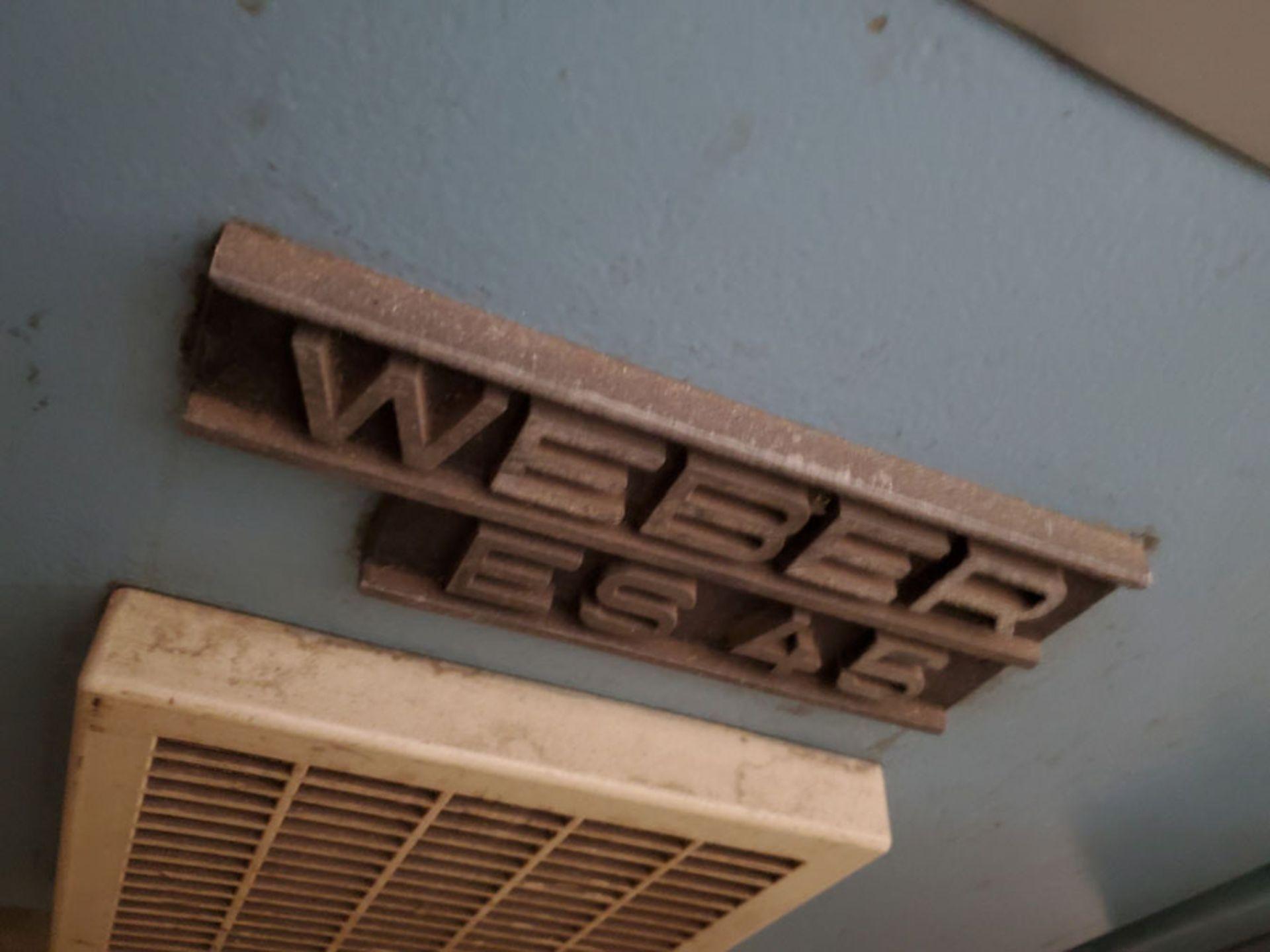 Lot 187 - WEBER EXTRUDER SYSTEM & CONTROLS