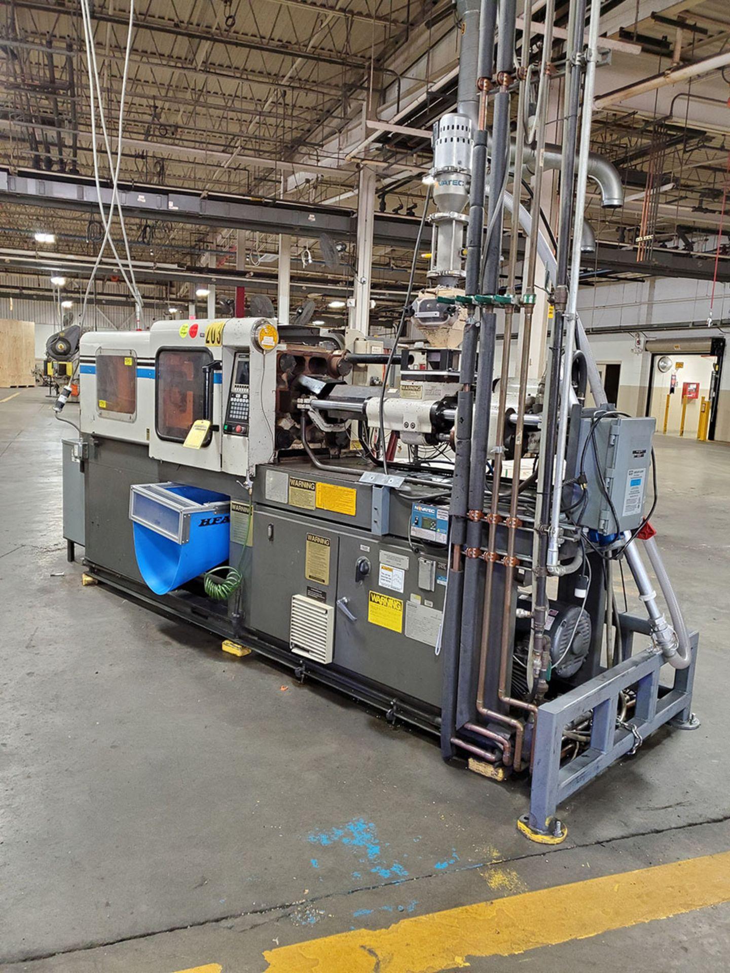 Lot 170 - 1995 CINCINNATI MILACRON 55-TON PLASTIC INJECTION MOLDING MACHINE; MODEL VSX-55-2-97, S/N