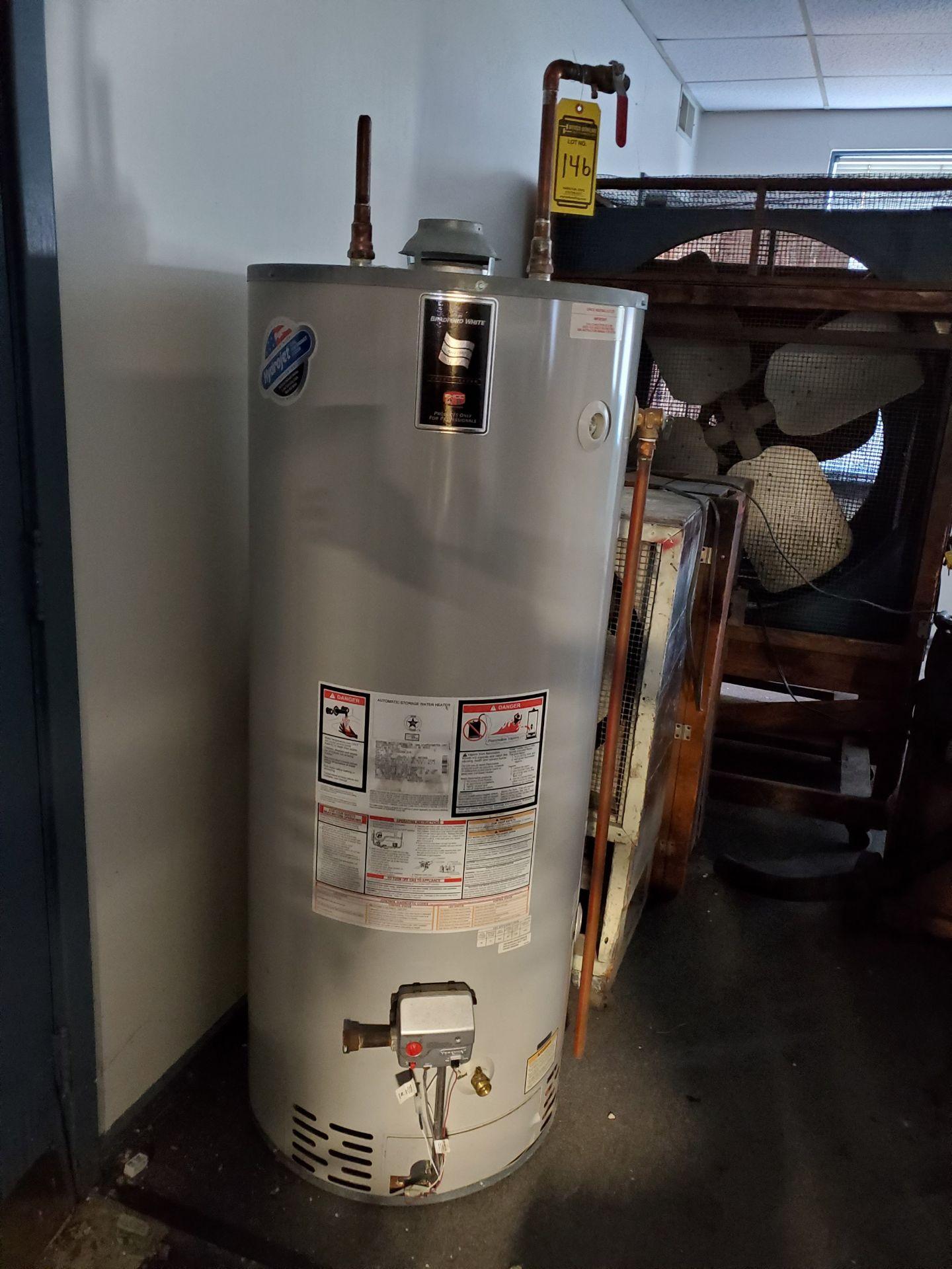 Lot 146 - BRADFORD WHITE NATURAL GAS WATER HEATER