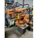 ABB ROBOTIC WELDING ARM, MILLER WIRE FEEDER, TOUGH GUN W/ ABB POWER SOURCE, TYPE 1RB1400M2000, 475