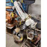 MOTOMAN EA1400 ROBOTIC WELDING ARM W/ MOTOMAN XRC2001 POWER SOURCE, 480/60/3, 24 KVA, S/N 1894