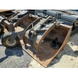 GRAPPLE BUCKET ATTACHMENT FOR SKID STEER