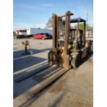 TOYOTA 5FD35 8,000 LB. CAP. FORKLIFT, 2-STAGE MAST, 130'' MAX LOAD HEIGHT, PNEUMATIC TIRES,