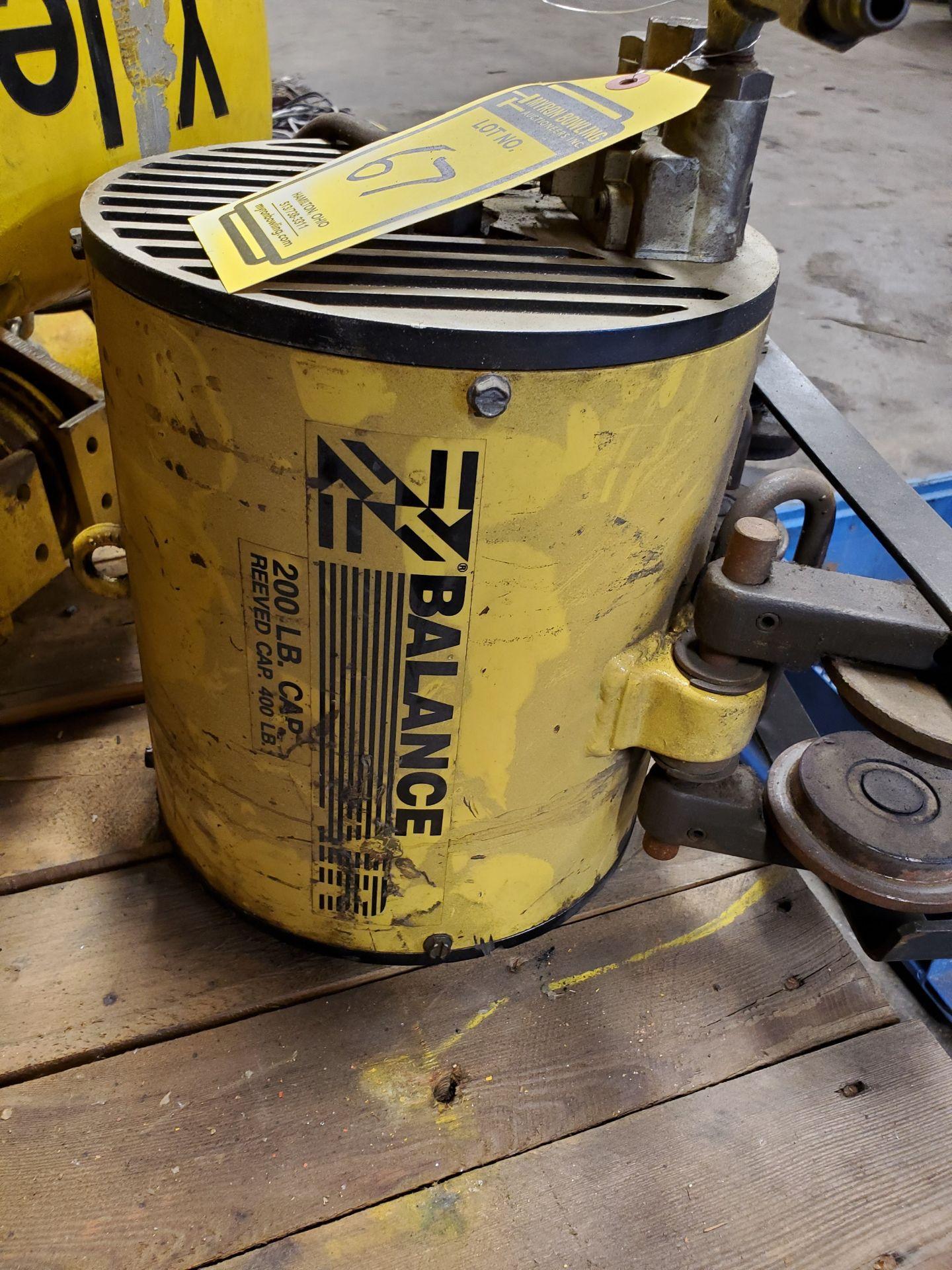 Lot 67 - YALE 1/2 TON ELECTRIC CHAIN HOIST & TROLLEY