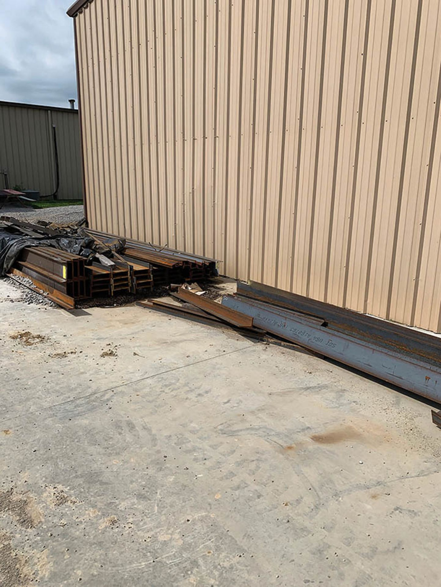 Lot 329 - ASSORTED STEEL CHANNEL AND I-BEAM