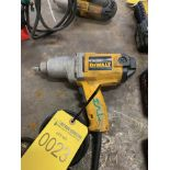 DEWALT 1/2'' DRIVE ELECTRIC IMPACT