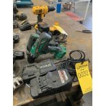 HITACHI CORDLESS DRILL AND IMPACT WITH CHARGER