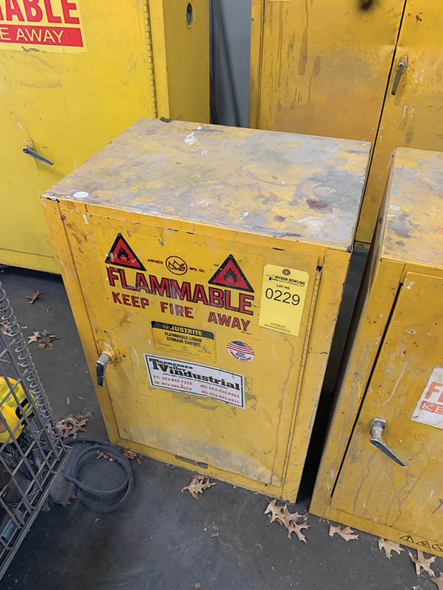 Lot 229 - FLAMMABLE CABINET