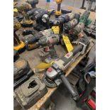 PORTER CABLE CORDLESS ANGLE GRINDER AND DRILL
