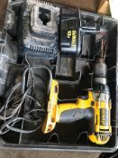 DEWALT CORDLESS DRILL DC987 W/ CHARGER AND 18V BATTERY