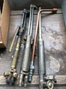 (LOT) OF (4) WELDING TORCHES