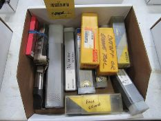 ASSORTED NEW & USED GROOVE TOOLS