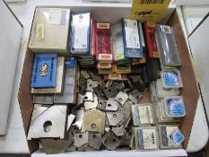 ASSORTED INSERTS AND SPADE BITS