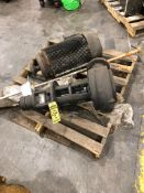 30-HP ELECTRIC MOTOR & 4'' PUMP