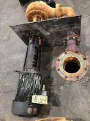 UNIMOUNT 15-HP ELECTRIC MOTOR, 254TC FRAME, 208/230/460 VOLT, 1765 RPM & 4'' PUMP