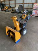 CUB CADET 3X SELF-PROPELLED SNOW BLOWER, 26'', (6) FORWARD GEARS WITH (2) REVERSE, ELECTRIC START