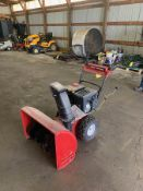 MTD YARD MACHINE SELF-PROPELLED SNOW BLOWER, 28'', (6) FORWARD GEARS WITH (2) REVERSE, ELECTRIC