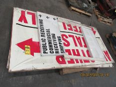 4' X 8' SIGNS
