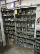 (9) ASSORTED NUT & BOLT STORAGE CABINETS AND PARTS CABINETS