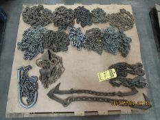 ASSORTED CHAINS AND CHOKES