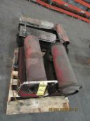 (5) ASSORTED KEROSENE HEATERS - DAYTON, REDDY - PORTABLE AIR TANK, AIR COMPRESSOR FOR PARTS, AND