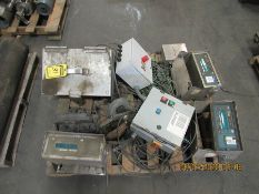 ASSORTED CONTROLS FOR PLATFORM SCALES, WEIGH-TRONIX MODEL W1110