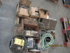 ASSORTED NUTS, BOLTS, WASHERS AND ROLL WIRE